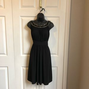 Black Midi cocktail dress